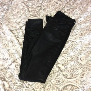 Size 27 (Fit like 26) Paradise Mine Black Skinny